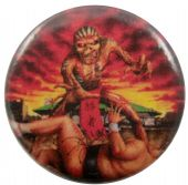 Iron Maiden - 'Eddie Sumo Japan' Button Badge